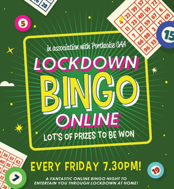 Portlaoise GAA Bingo